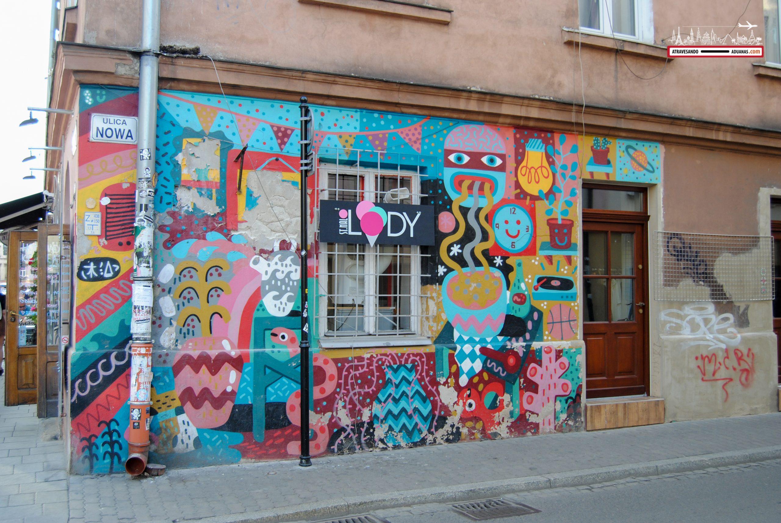 Casa de colores en Kazimierz