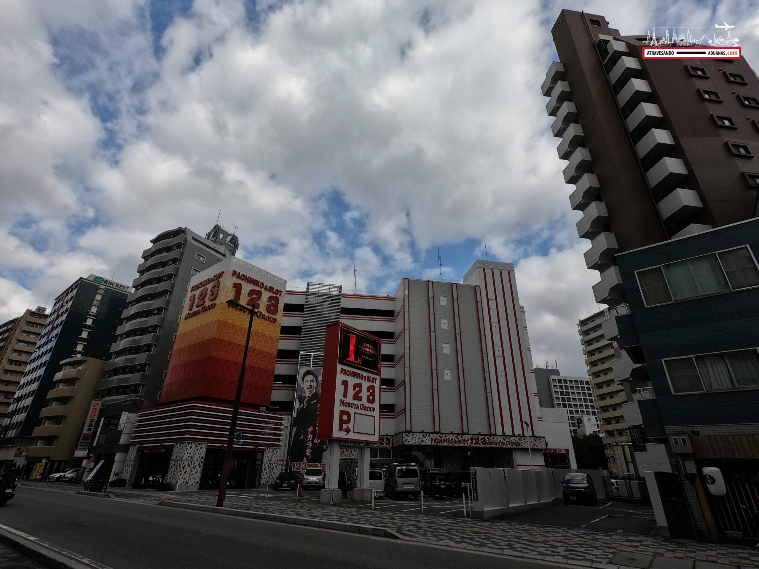 Pachinko en Fukuoka