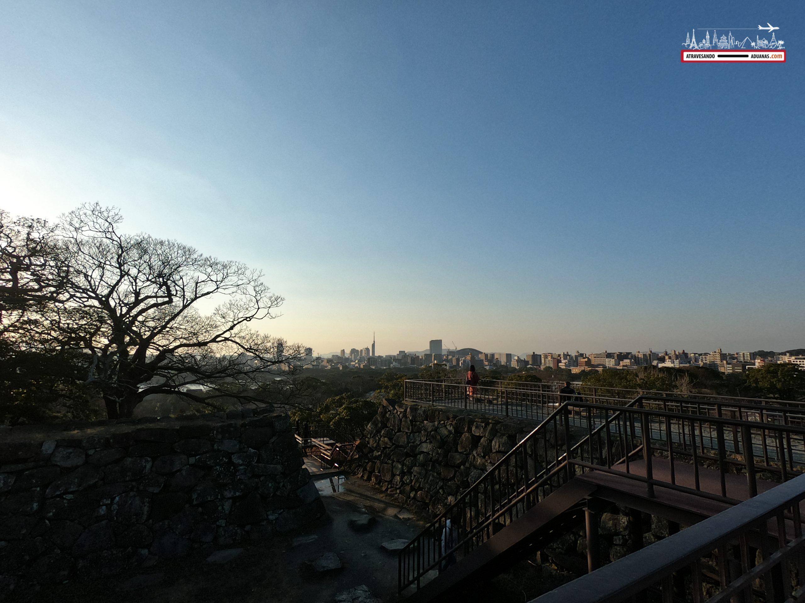 Antiguo castillo de Fukuoka