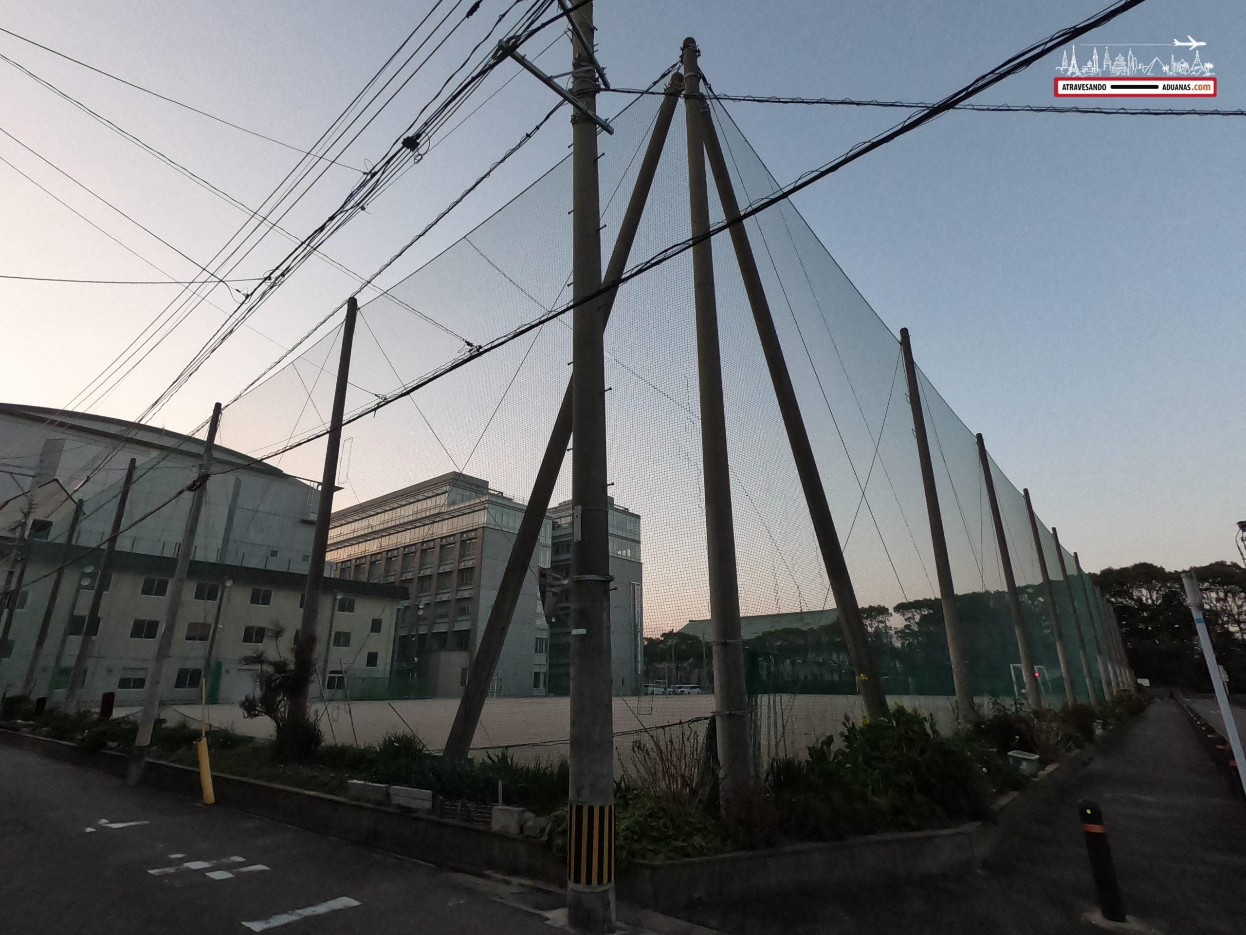 Pista de baseball en Fukuoka