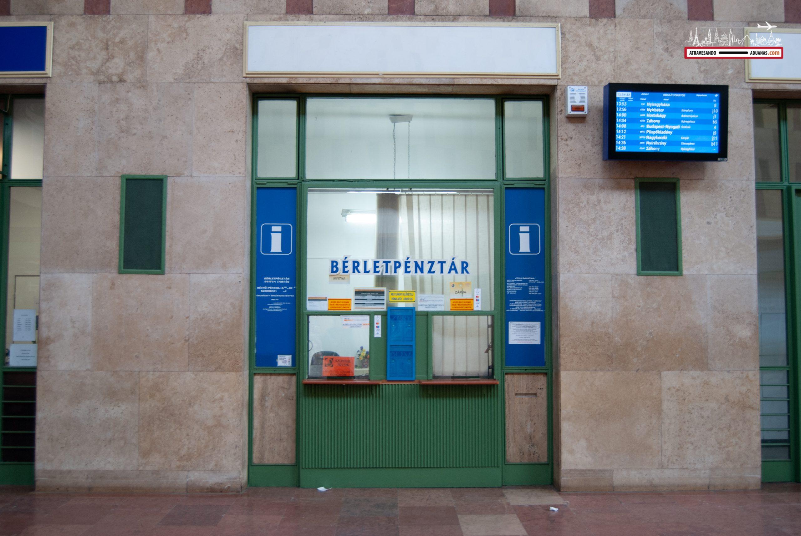 Estación de tren de Debrecen