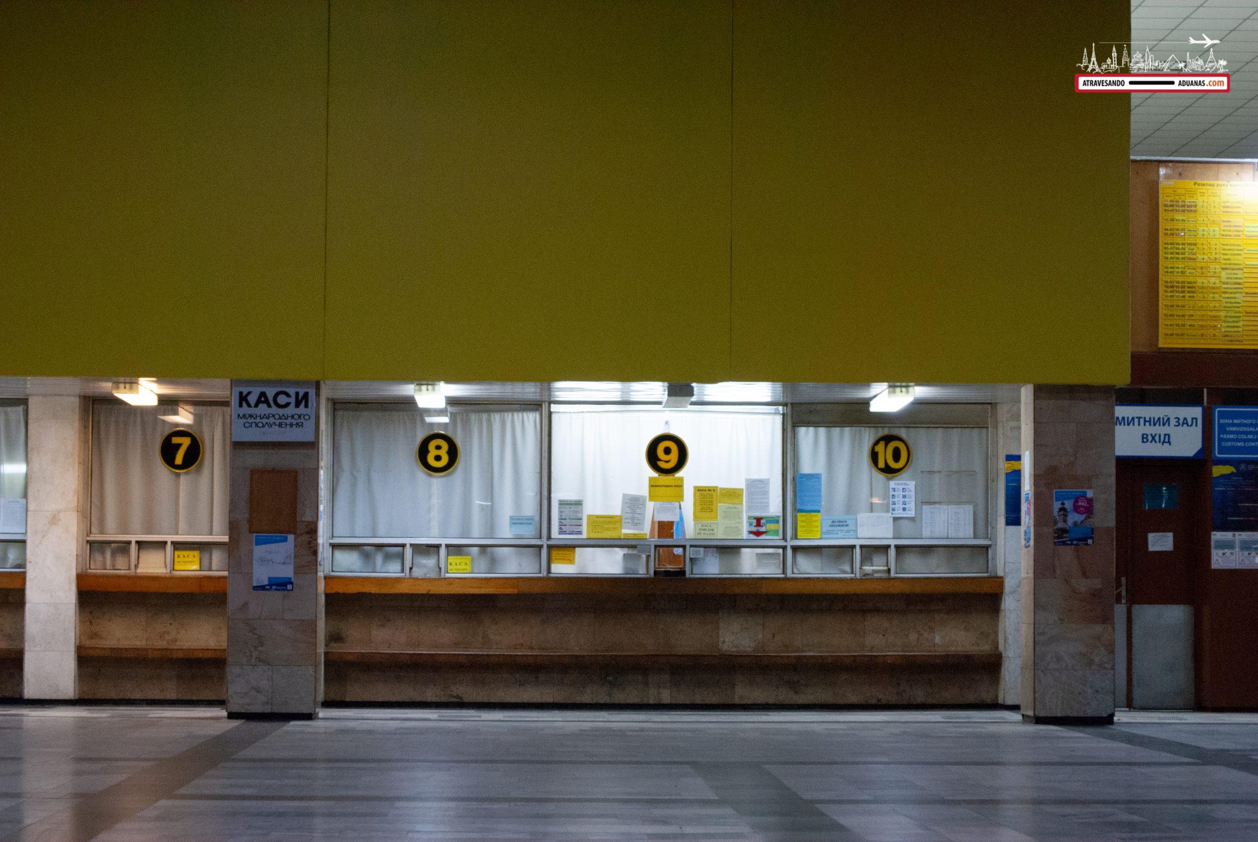 Estación de tren de Chop, Ucrania