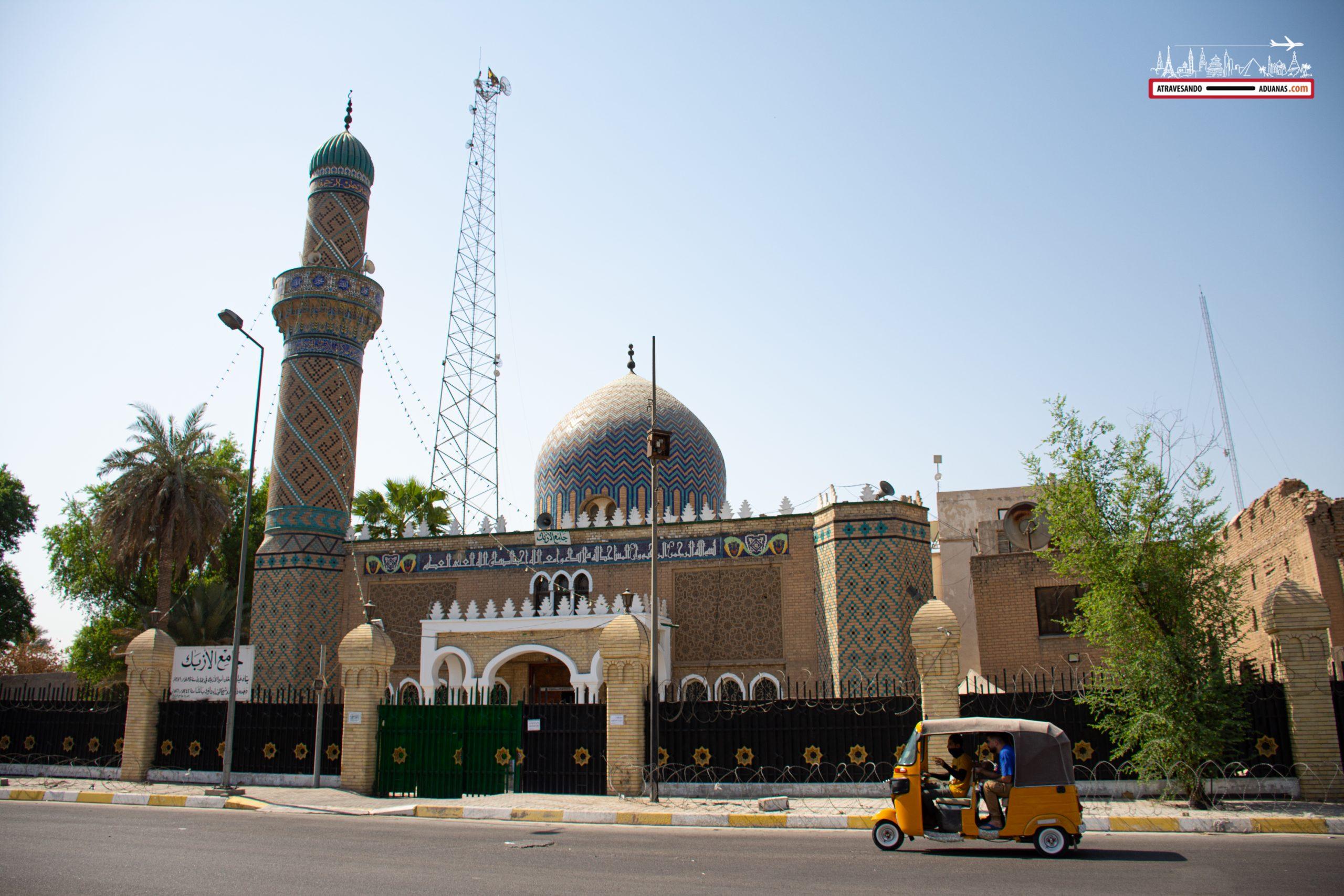 Mezquita en Bagdad